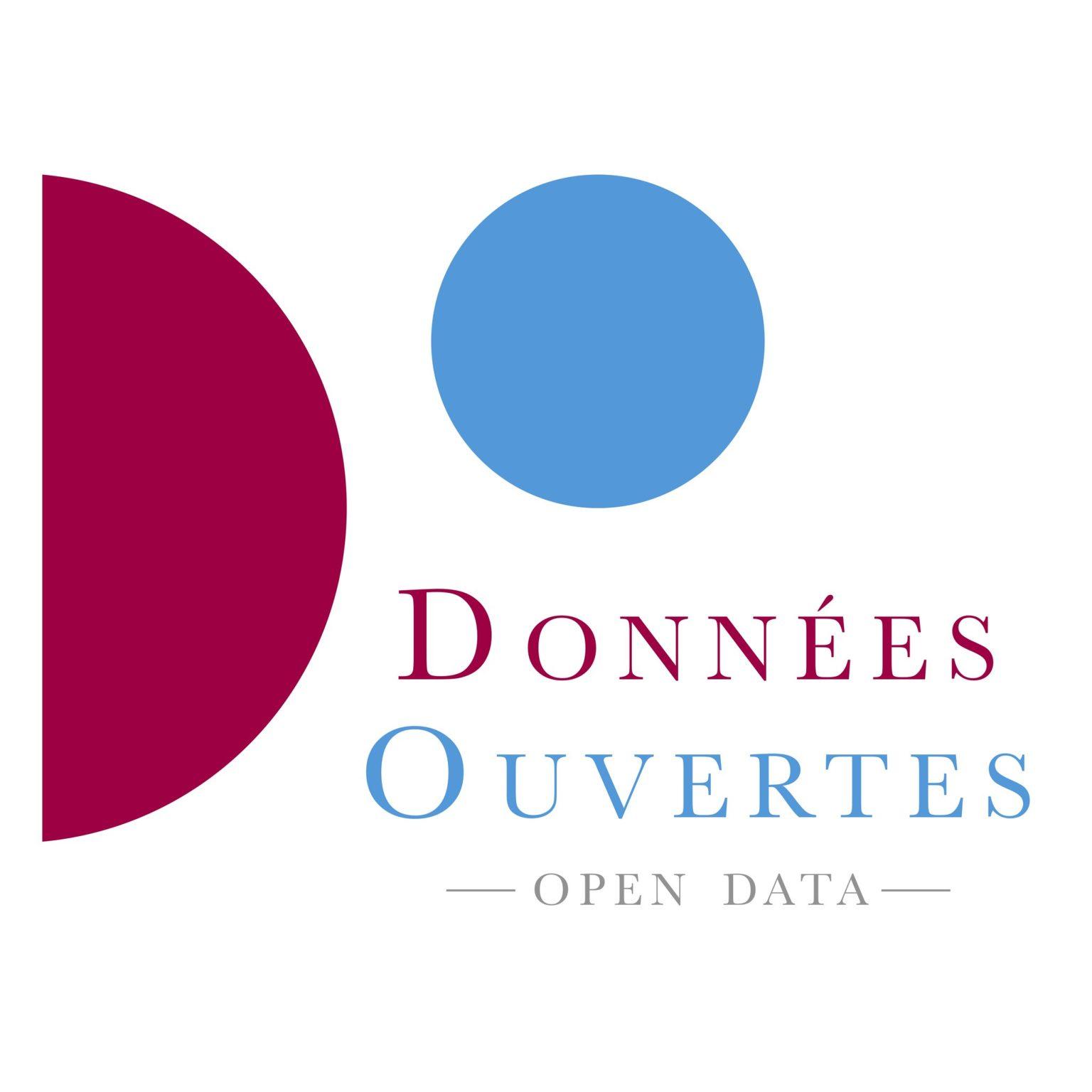 Données Ouvertes / Open Data (Logo officiel - SENAT)
